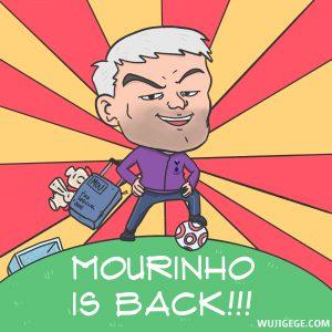 MOURINHO IS BACK!!